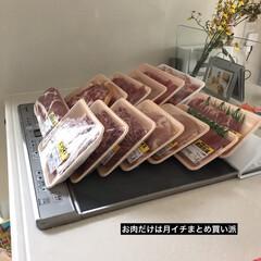 お肉/買い出し/まとめ買い/おうちごはん/暮らし/節約/... お肉だけは決まったスーパーで買っていて …