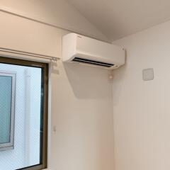 掃除記録/エアコンクリーニング/エアコン掃除/暮らしを整える/便利アイデア お掃除のプロの方にエアコンクリーニングを…