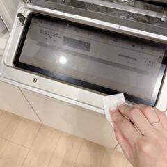 花王 マジックリン ピカッと輝くシート 8枚入 | 花王(マルチクリーナー)を使ったクチコミ「オーブントースターのお掃除しました🤗トー…」(2枚目)