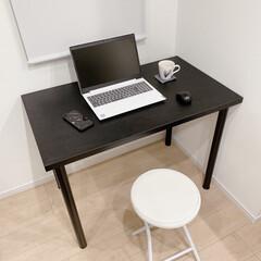 テーブル/ワークスペース/インテリア/パソコンデスク/ワークデスク/おしゃれ おうちでパソコンを扱う時間が増えたので、…
