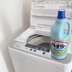 掃除記録/暮らしを整える/掃除アイデア/家事アイデア/洗濯アイデア/便利グッズ/... 月イチの洗濯槽掃除をしました✨塩素系洗濯…
