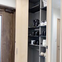 玄関掃除/下駄箱掃除/カビ対策/便利アイデア/暮らしを整える 玄関お掃除のついでにシューズクロークの拭…