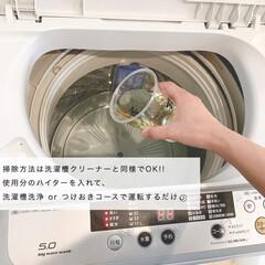 花王 ハイター 大 1.5L   花王(柔軟剤)を使ったクチコミ「月一の洗濯槽お掃除!衣料用の塩素系漂白剤…」(3枚目)