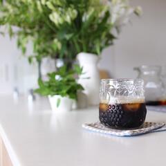 アイスコーヒー/ittara/グラス/コーヒータイム/キッチン雑貨/暮らし アイスコーヒーの美味しい季節になりました…