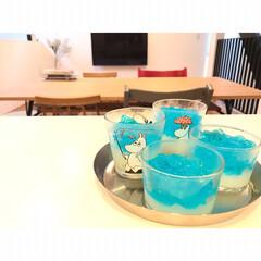 アミューズ・ブッシュ ボデガ 7.10860(皿)を使ったクチコミ「七夕ゼリー作ってみました♡ . 初めてサ…」