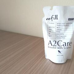 A2Care エーツーケア 除菌 消臭剤 1L 詰替用 | A2Care(部屋用)を使ったクチコミ「除菌消臭スプレー  まだなかなか買えない…」