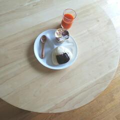 コレール コレール ウインターフロスト ホワイト ランチ皿 大 J310−N RKL6101 | コレール(弁当箱)を使ったクチコミ「ɢᴏᴏᴅ ᴍᴏʀɪɴɢ .*  パンは休…」