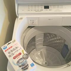 カビトルネード   リベルタ(洗濯槽クリーナー)を使ったクチコミ「梅雨☂ 室内干しの時期 𖠿 𖤣𖤥 しっか…」(2枚目)
