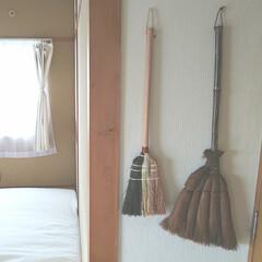 タカショー 職人棕櫚ほうき 短柄 CBB-09 職人 0 10セット(モップ、雑巾)を使ったクチコミ「( 'ω'o[ ほうき ]o  まだ掃除…」