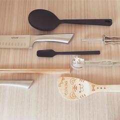 シリコーン調理スプーン 長さ約26cm 無印良品 | 無印良品(スプーン)を使ったクチコミ「持ちすぎない暮らし 𖠿 𖤣𖤥  よく使う…」