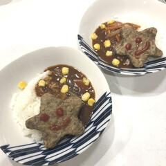 ディナー/ハヤシライス/夜ご飯/七夕メニュー/七夕/スタミナ丼/... 今週は食材配達週間✨ どういうことかと言…