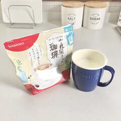 珈琲/出勤前/ルーティン/コーヒータイム/コーヒー/暮らし 朝のルーティン☕️ コーヒーを飲んでから…
