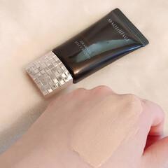 資生堂 マキアージュ ドラマティックリキッド UV オークル10(パウダーファンデーション)を使ったクチコミ「高密着ジェリーと美肌パウダー配合で 肌を…」(4枚目)
