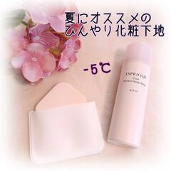エスプリーク ひんやりタッチ CCスプレー UV 50 S 35g ミニサイズ SPF50+/PA++++ほんのり血色感の ある肌色   ミニサイズ(BB、CCクリーム)を使ったクチコミ「これから夏にかけてオススメなのが、 スプ…」