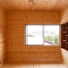 リフォーム/リノベーション/ナチュラル/ログハウス/DIY 和室からログハウス風の部屋にDIYしまし…