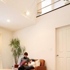 注文住宅/YK建物/無垢材/自然素材/子育て住宅 いつも近くにある家族の笑い声 お子様の誕…
