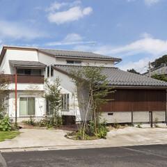自然素材/無垢材/和風住宅/注文住宅/富士住建 自然素材にもこだわった、和のテイストを取…