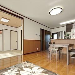 同居/二世帯/注文住宅/スズモク 将来の同居にも対応した家 同じ敷地内の別…