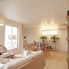 MJ HOUSE/ハワイアン/注文住宅 ハワイアンインテリアが似合うお家。 家具…