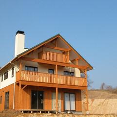 注文住宅/佐久間工務店 自然とお話する家 宮城県の山間に建つ、山…