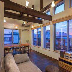 リノベーション/無添加住宅/エスサイクル設計/自然素材 築36年建築家自邸リノベーション 中古住…