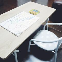 テーブル/ニトリ購入品/雑貨/ニトリ/便利グッズ/購入品 ニトリの折りたたみテーブル。折りたたみ式…(3枚目)