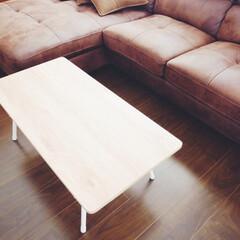 テーブル/ニトリ購入品/雑貨/ニトリ/便利グッズ/購入品 ニトリの折りたたみテーブル。折りたたみ式…(2枚目)