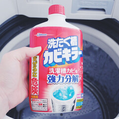 ジョンソン 洗たく槽カビキラー 2本パック 550G×2 洗濯槽クリーナー | JOHNSON(防カビ洗剤)を使ったクチコミ「今までは酸素系漂白剤で洗濯槽の掃除をして…」