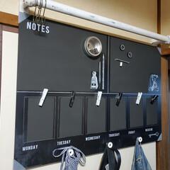 マグネット/DIESEL/ダイソー/Seria/IKEA/雑貨/... #昔IKEAで購入した黒板に #マグネッ…