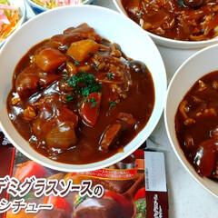 圧力鍋/煮込み料理/簡単/夕御飯/ビーフシチュー/トップバリュ