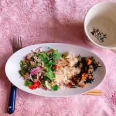 タイ料理/朝ごはん/糖質/ダイエット/糖質制限/わたしのごはん