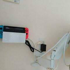 ニンテンドースイッチ/Nintendoswitch/スッキリ/ダイソー/DIY収納/収納/... Nintendo Switchを壁面収納…
