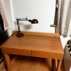 DIY/勉強机 今年小学一年生になる子供用の勉強机を作っ…