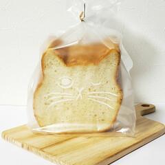 おやつ/にくきゅうマドレーヌ/ねこねこチーズケーキ/ねこねこ食パン/おうちカフェ にくきゅうマドレーヌ。  ねこねこ食パン…(2枚目)