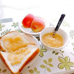 レモン汁/りんごバター/レモンヨーグルトゼリー レモン尽くし🍋💛 レモンを作ってる近所の…(6枚目)