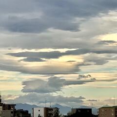 空 🌈🌻🌺🌴🏖  🦚今日朝の富士山方向の空☁️