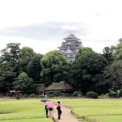 公園/城/旅 岡山城と綺麗な庭園最高です。