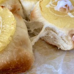 ちぎりパン/パン作り/焼き立てパン/おうちパン 週末に息子が焼いてくれた【パイナップルと…(3枚目)