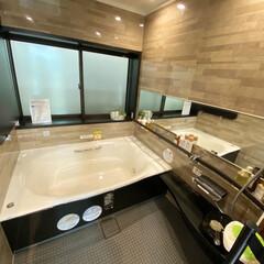 浴室リフォーム 浴室がこれだけ広いって、  まさに非日常…