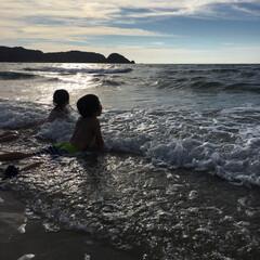 初投稿/我が子の成長/夏の思い出/海/空 .*・゚𓆉𓆡夏の思い出𓇼𓆡𓆉 .゚・*.