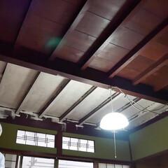DIY/セルフリノベーション/リノベーション/塗装/ペンキ/古民家/... 【リノベーション】天井を白色に塗装しまし…