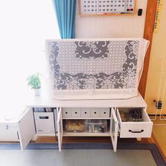 ファイルボックス収納/引き出し収納/テレビボード収納/収納/インテリア/無印良品 𖧷テレビボード収納𖧷  ゴチャゴチャにな…