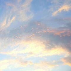空/夕やけ 🌴☀️SUMMER🍧🌴  ☀️今日の夕や…