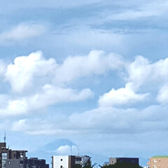 富士山 🌴🌺⛱🌼🍂🍁🌾  富士山はちょい見え(≧…