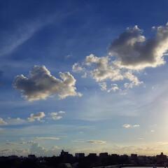 夕日 🌴🌺⛱🌼🍂🍁🌾  ☀️今日のもう1つの夕…(1枚目)