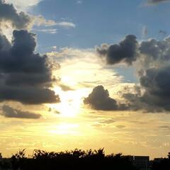 風景/空/夕日 🌴🌺🍧SUMMER🍧🌺🌴  ☀️昨日の夕…