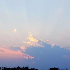 夕やけ/空 🌴☀️SUMMER🍧🌴  🐢☀️今日の夕…