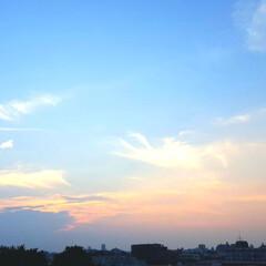 夕焼け風景/空