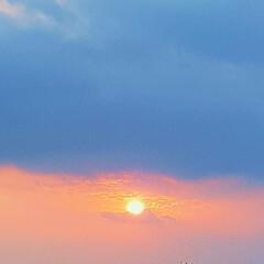 空/夕陽 🌴🌺🍧SUMMER🍧🌺🌴  ☀️今日の夕…(2枚目)