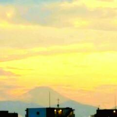 夕やけ/空/富士山 🌴☀️SUMMER🍧🌴  🌞昨日のもう1…